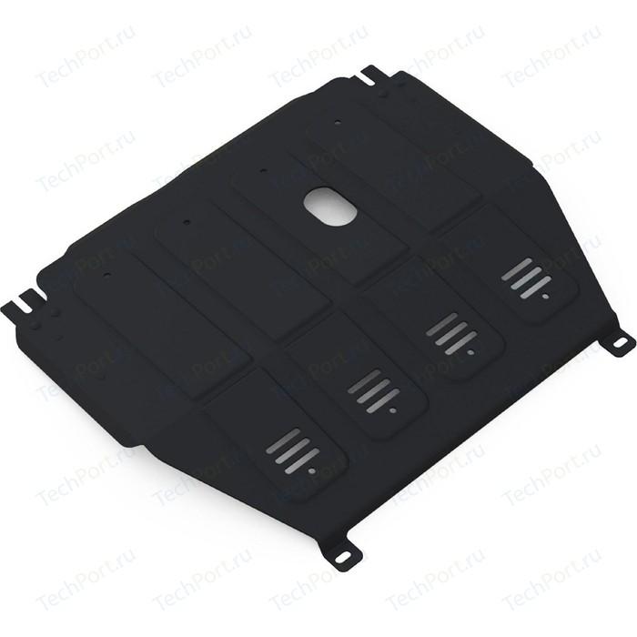 Защита картера и КПП АвтоБРОНЯ для Chevrolet Aveo МКПП (2012-2015), сталь 2 мм, 1.01015.1