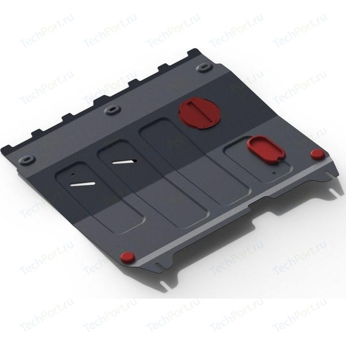 Защита картера и КПП АвтоБРОНЯ для Chevrolet Spark АКПП (2010-2016) / Ravon R2 (2016-н.в.), сталь 2 мм, 111.01018.1