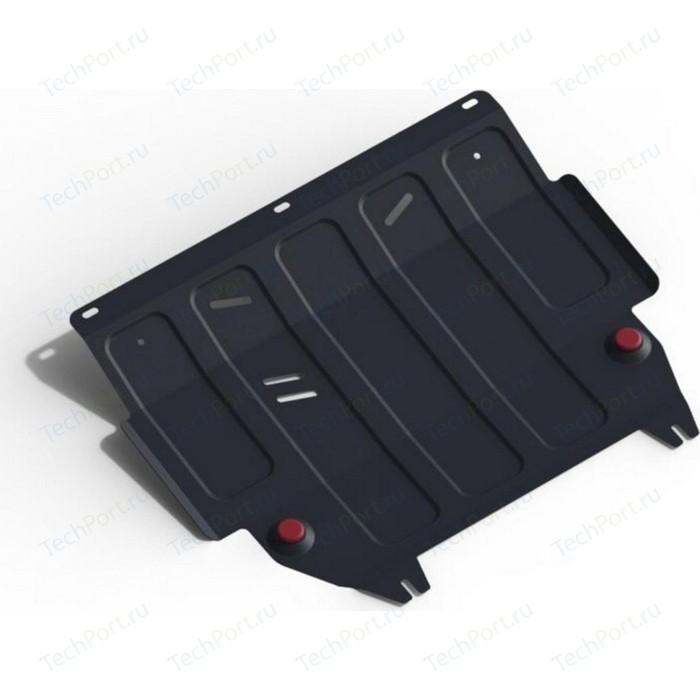 Защита картера и КПП АвтоБРОНЯ для Ford Fiesta (2008-2015 / 2015-н.в.), сталь 2 мм, 111.01805.2