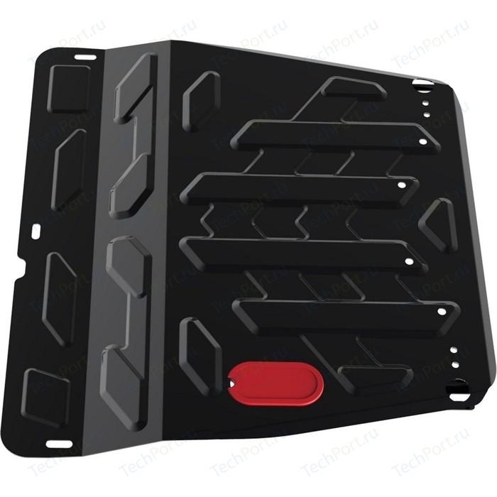 Защита картера и КПП АвтоБРОНЯ для SsangYong Actyon (2011-2013 / 2013-н.в.), сталь 2 мм, 111.05307.2