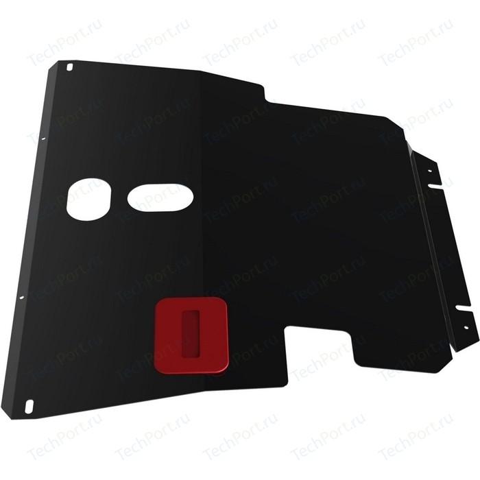 Защита картера и КПП АвтоБРОНЯ для Toyota Allion FWD (2001-2007), Noah Premio сталь 2 мм, 111.05759.1