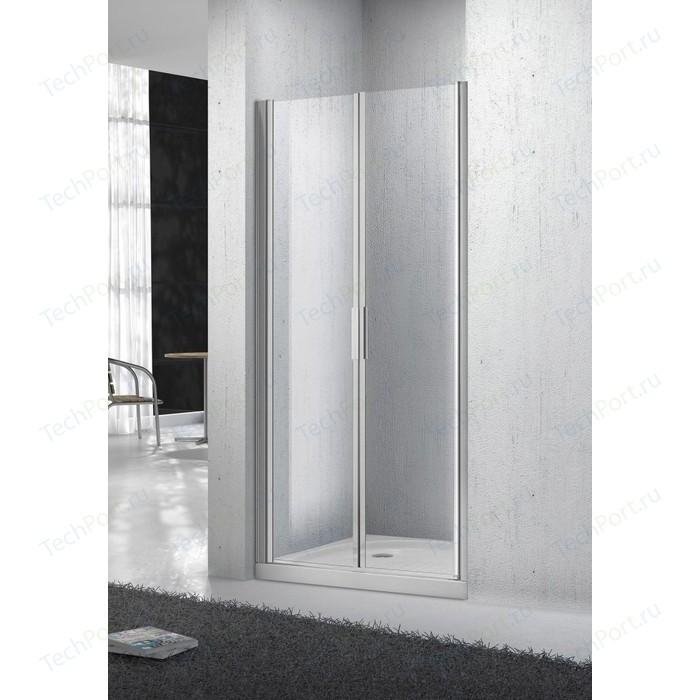 Душевая дверь BelBagno SELA B-2 110 прозрачная, хром (SELA-B-2-110-C-Cr)