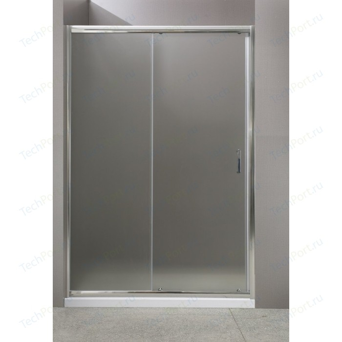 Душевая дверь BelBagno UNO BF-1 125 Punto, хром (UNO-BF-1-125-P-Cr)