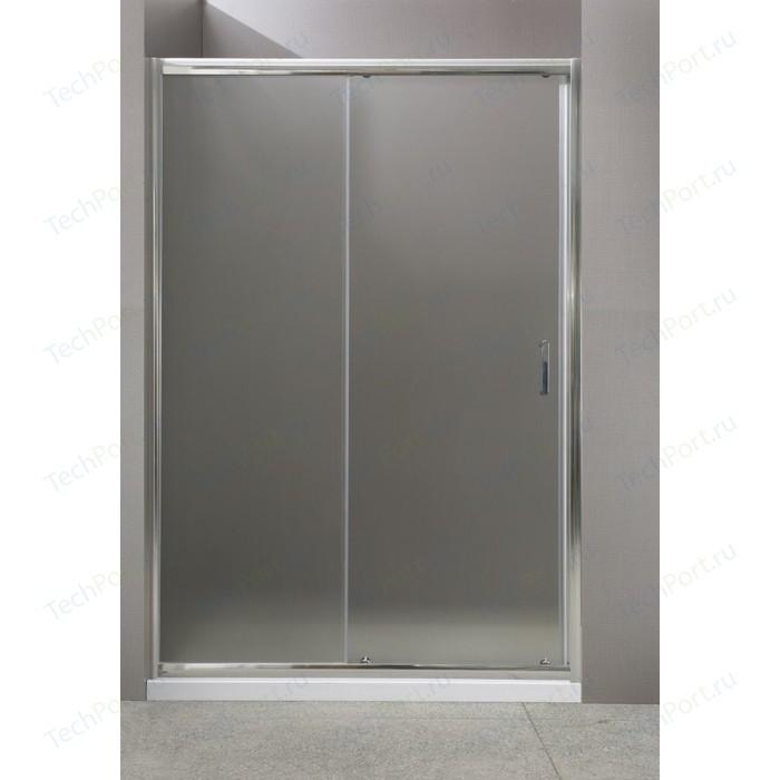 Душевая дверь BelBagno UNO BF-1 130 прозрачная, хром (UNO-BF-1-130-C-Cr)
