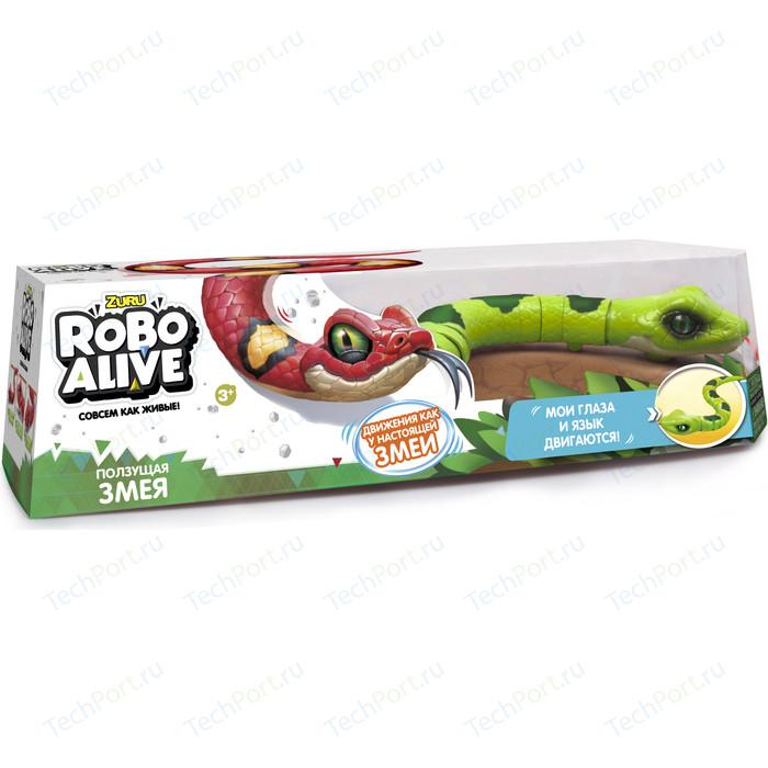 Интерактивная игрушка ROBO ALIVE Робо-змея (Зеленая) (Т10995) tonight alive tonight alive limitless