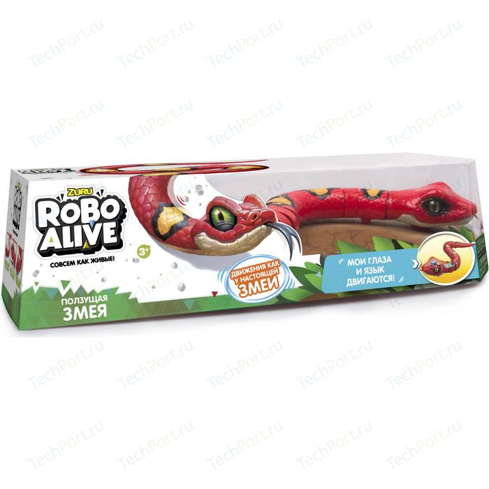 Интерактивная игрушка ROBO ALIVE Робо-змея(Красная) (Т10996) tonight alive tonight alive limitless