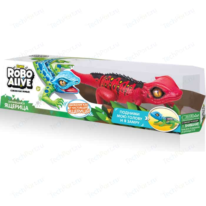 Интерактивная игрушка ROBO ALIVE Робо-ящерица(Красная) (Т10994) tonight alive tonight alive limitless