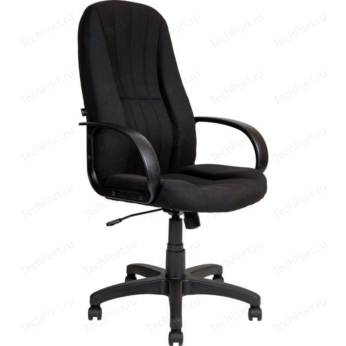 Кресло Алвест AV 107 PL (727) MK ткань 418 черная