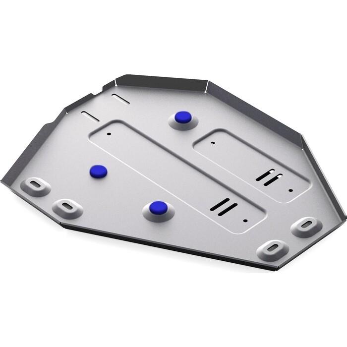 Защита топливного бака Rival для Hyundai Santa Fe (вкл. Premium) / Kia Sorento 4WD (2012-н.в.), алюминий 4 мм, 333.2338.1