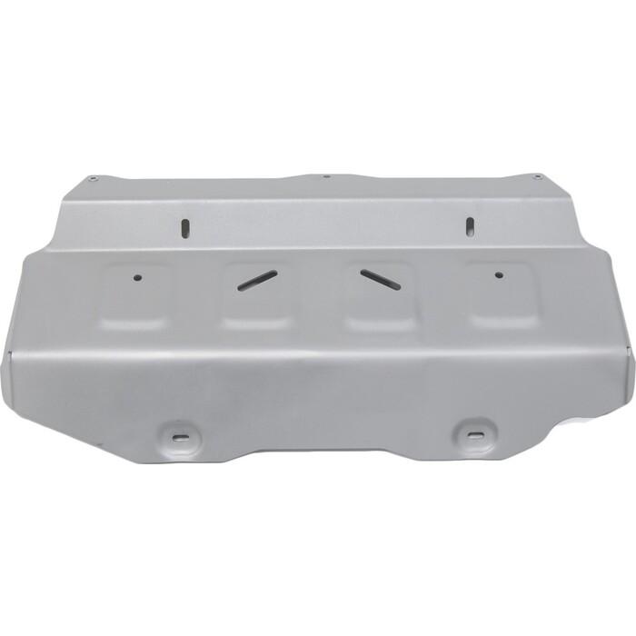 Защита радиатора и картера ч.1 Rival для Toyota Fortuner 4WD / Hilux (2015-н.в.), алюминий 4 мм, без крепежа, 3.9501.1