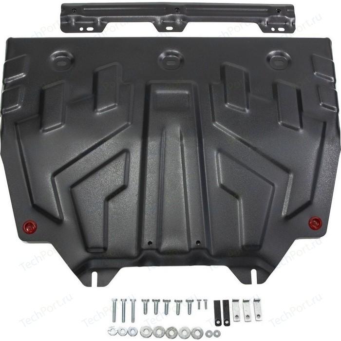 Защита картера и КПП АвтоБРОНЯ для Mazda 3 (2013-н.в.), 6 (2012-н.в.), CX-5 (2011-2017), АКПП (2017-н.в.), CX-9 сталь 2 мм, 111.03817.1