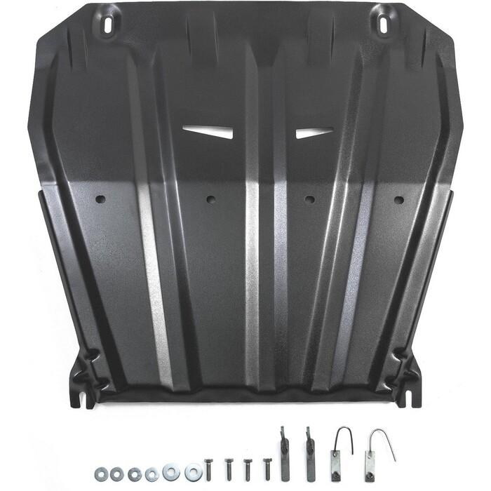 Защита картера и КПП Rival для Nissan Qashqai J11 (сборкаРФ) (2015-2019) / Qashqai J11 4WD (2019-н.в.) / X-Trail T31,T32 (2007-н.в.), сталь 2мм, 111.4158.1
