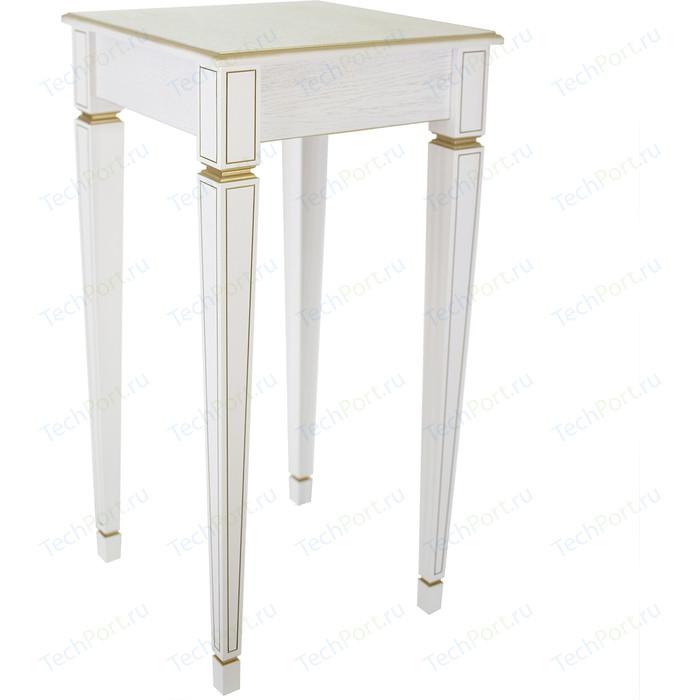 Фото - Подставка Мебелик Васко В 47Н белый ясень/золото вешалка костюмная мебелик васко в 70 белый ясень золото