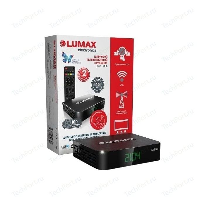 Тюнер DVB-T2 Lumax DV-2104HD