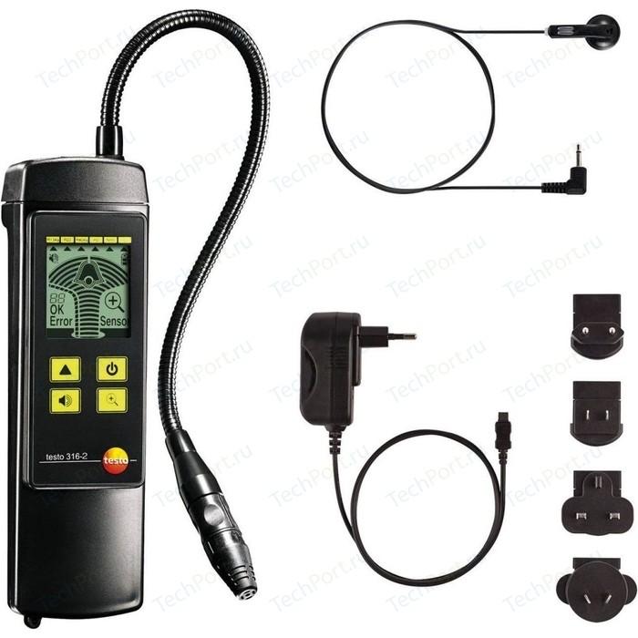 Детектор утечки газов Testo 316-2 со встроенным насосом