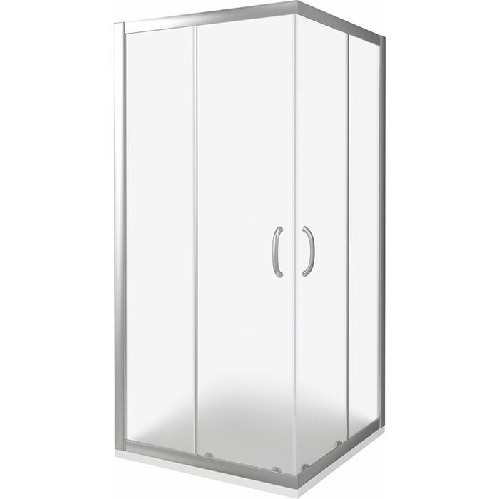 Душевой уголок Good Door Infinity CR 100х100 с поддоном, матовый, хром