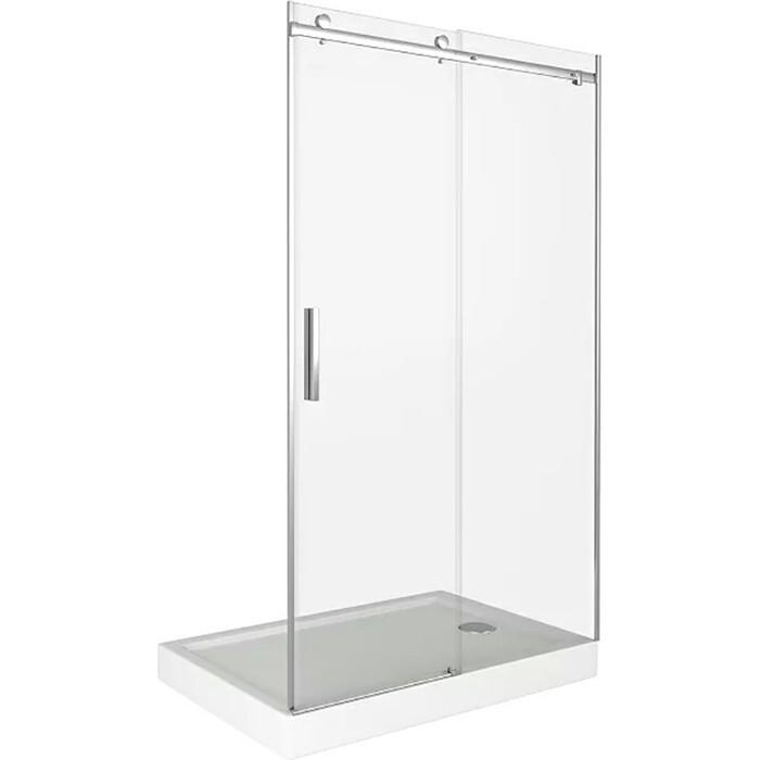 Душевая дверь Good Door Galaxy 110 прозрачная, хром (Galaxy WTW-110-C-CH)