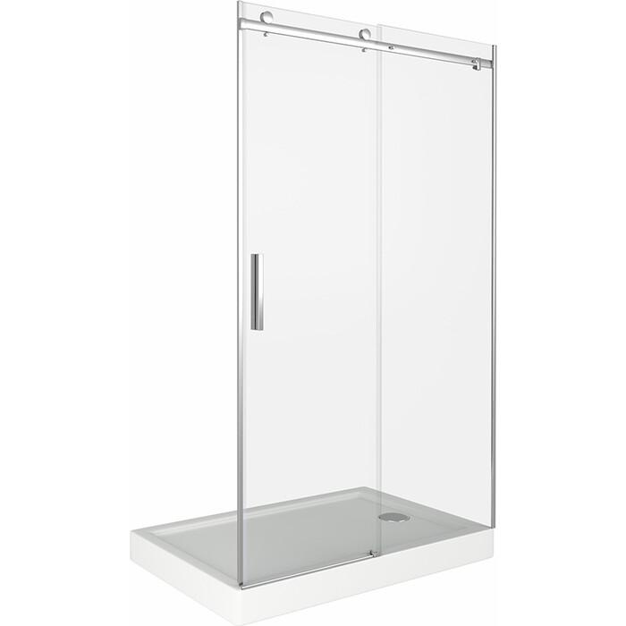 Душевая дверь Good Door Galaxy 120 прозрачная, хром (Galaxy WTW-120-C-CH)