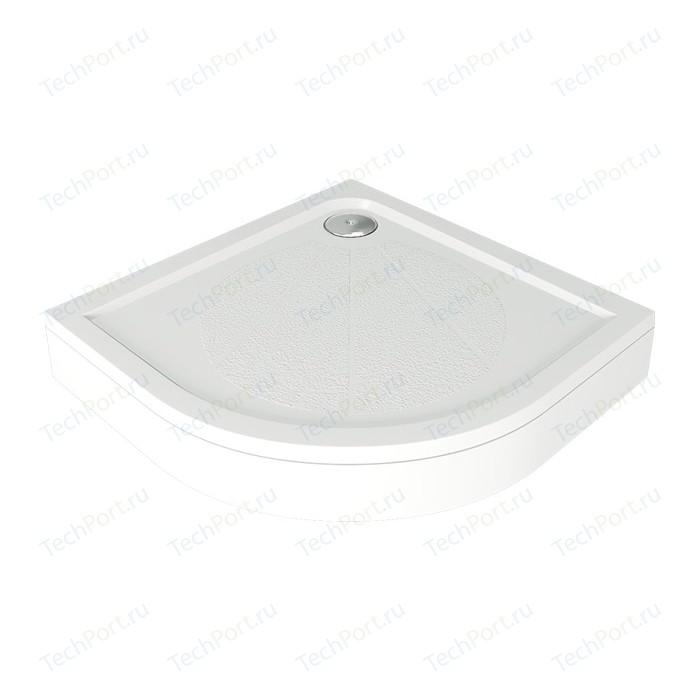 Душевой поддон Good Door Эклипс, 90x90 см, полукруглый (ЛП00013)