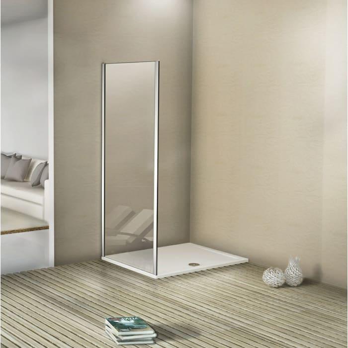 Боковая стенка для душевой двери Good Door Antares 90 Волна, хром (Antares SP-90-W-CH)