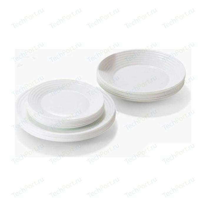 Сервиз столовый 18 предметов Luminarc Harena White (L3270)