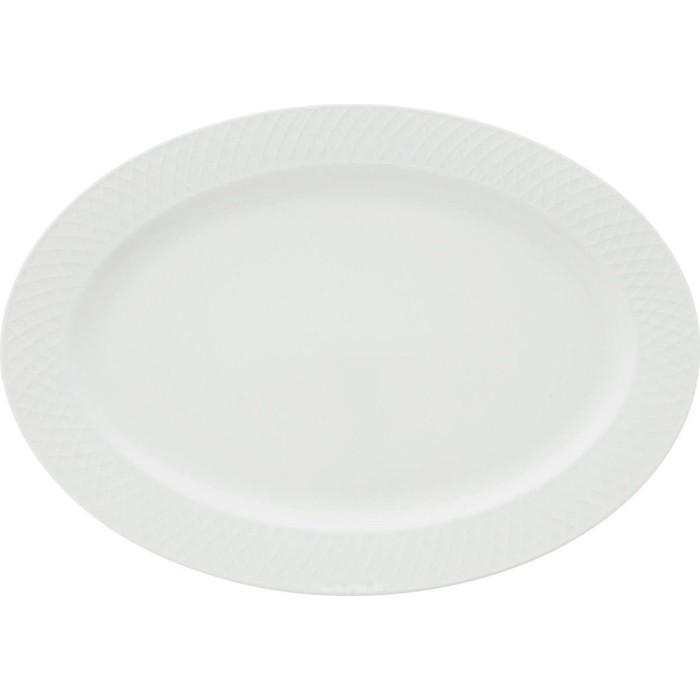 Блюдо овальное 35х25см Wilmax Юлия Высоцкая (WL-880103-JV / 1C)