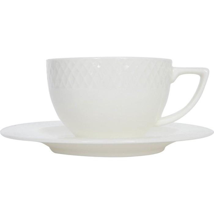 Набор чайных пар 6 штук Wilmax Юлия Высоцкая (WL-880105-JV / 6C)
