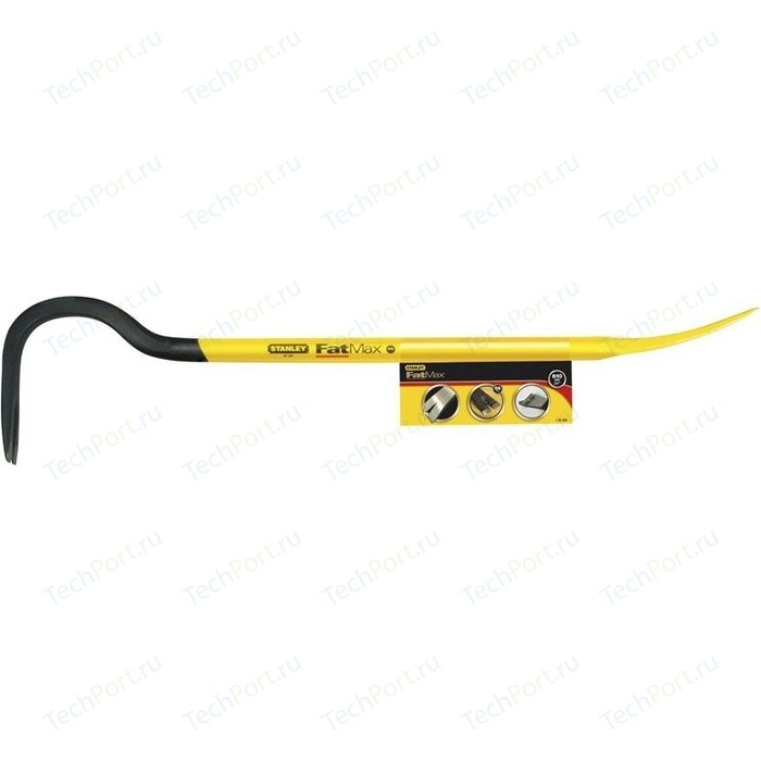 Гвоздодер-монтировка Stanley Fatmax 914 мм (1-55-504) нож stanley fatmax с сегментным лезвием 25 мм