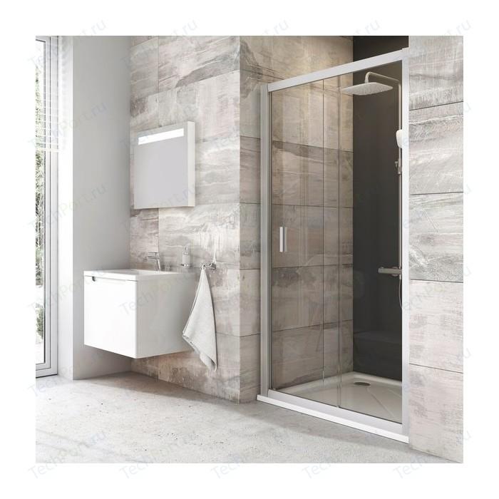 Душевая дверь Ravak Blix BLDP2 120 прозрачная Транспарент, белый (0PVG0100Z1)