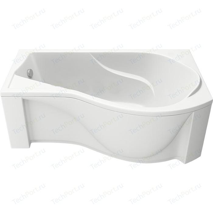 Акриловая ванна BAS Капри 170х95 правая, с каркасом, фронтальная панель (В 00016, Э 00016)