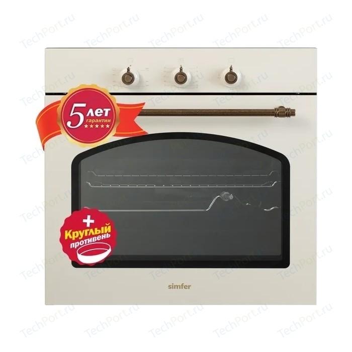 Газовый духовой шкаф Simfer B6GO12017