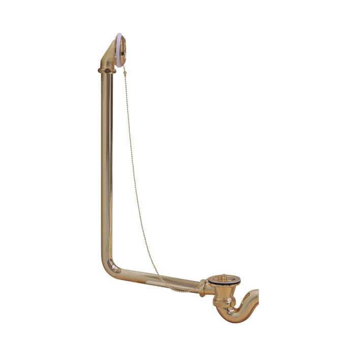 Слив-перелив для ванны Эстет Wirquin Царская/Бостон, бронза (ФР-00000818)