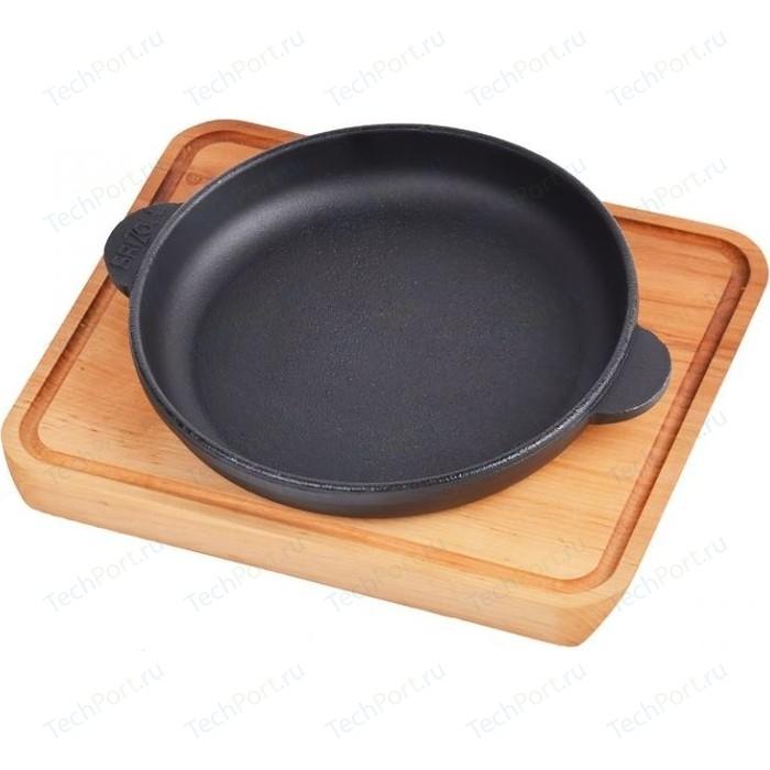 Сковорода с дощечкой Brizoll d 16см Horeca (Н1625-Д)