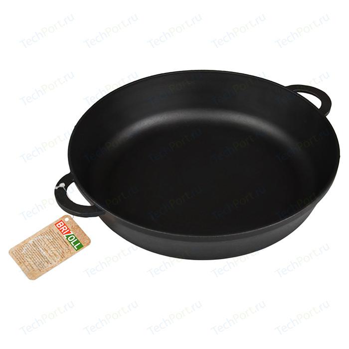 Сковорода Brizoll d 28см Монолит (М2860-У) сковорода d 24 см kukmara кофейный мрамор смки240а