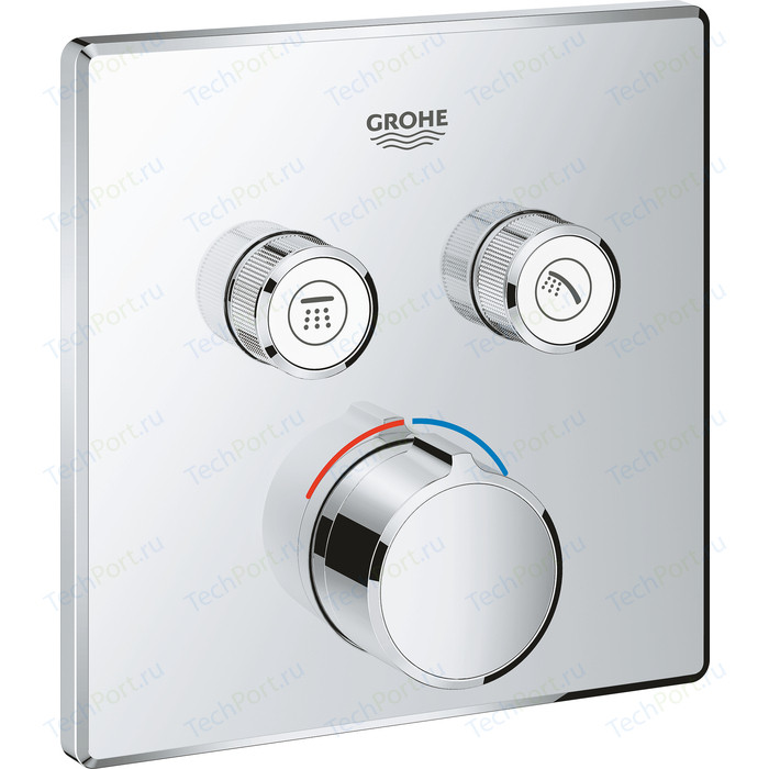 Смеситель для ванны Grohe SmartControl Mixer с механизмом (29148000, 35600000)