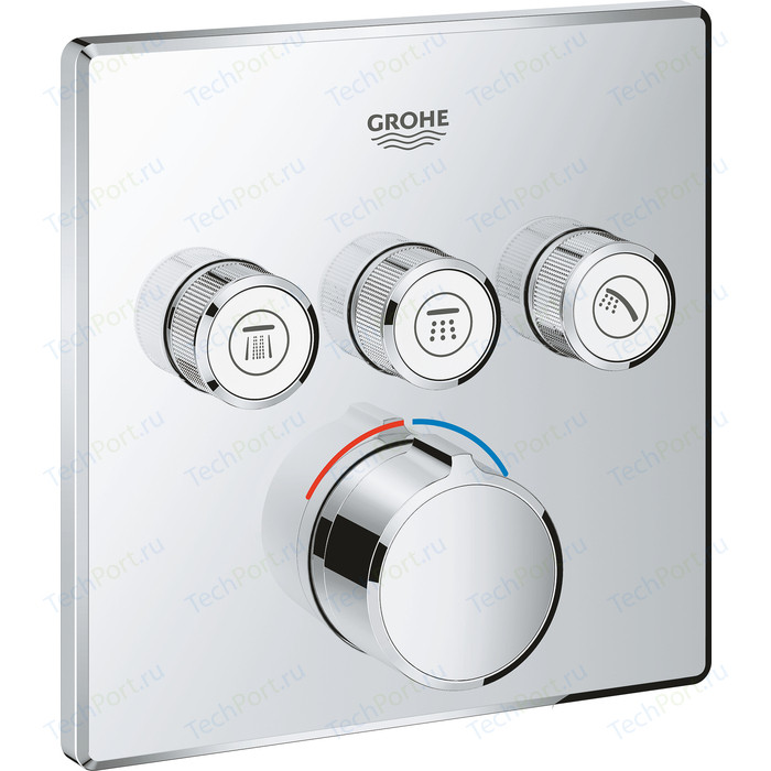 Смеситель для ванны Grohe SmartControl Mixer с механизмом (29149000, 35600000)