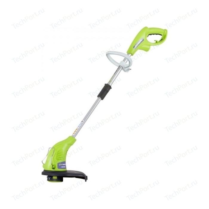 Фото - Триммер электрический (электрокоса) GreenWorks GST4530 (2103607) электрический триммер greenworks gst5033