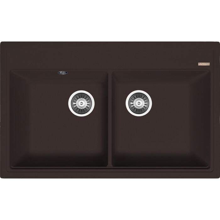 Кухонная мойка Florentina Липси 820 мокко Fs (20.370.E0820.303)