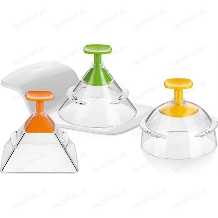 Набор форм для укладки пищи 3D-формы 3 штуки Tescoma Presto Foodstyle (422230)