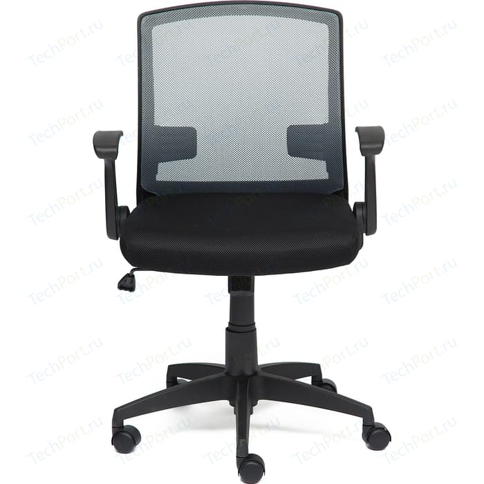 Кресло TetChair SCOUT ткань черный/серый