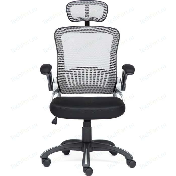 Кресло TetChair MESH-2 ткань черный/серый
