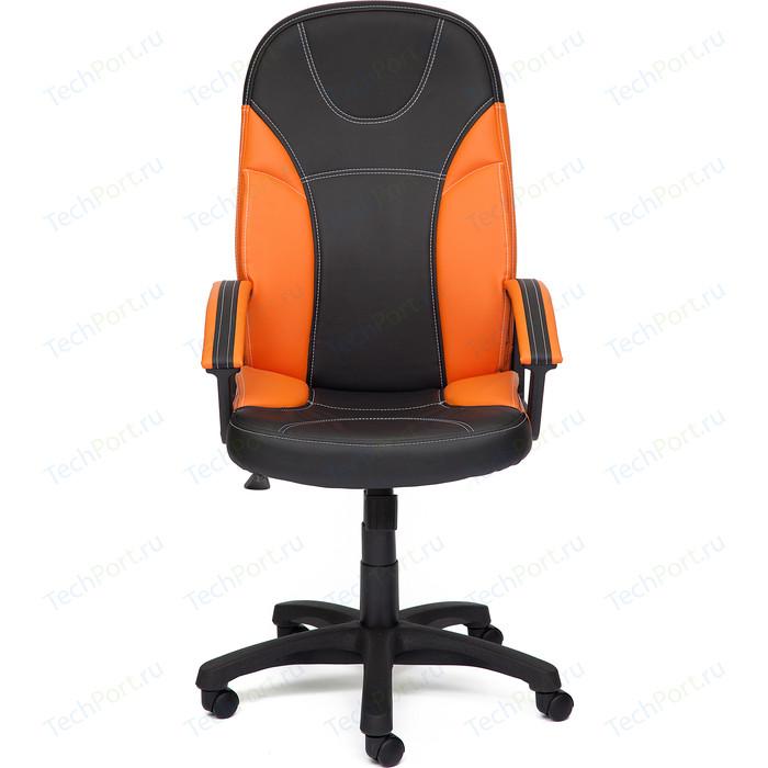 Кресло TetChair TWISTER кож/зам черно-оранжевый 36-6/14-43