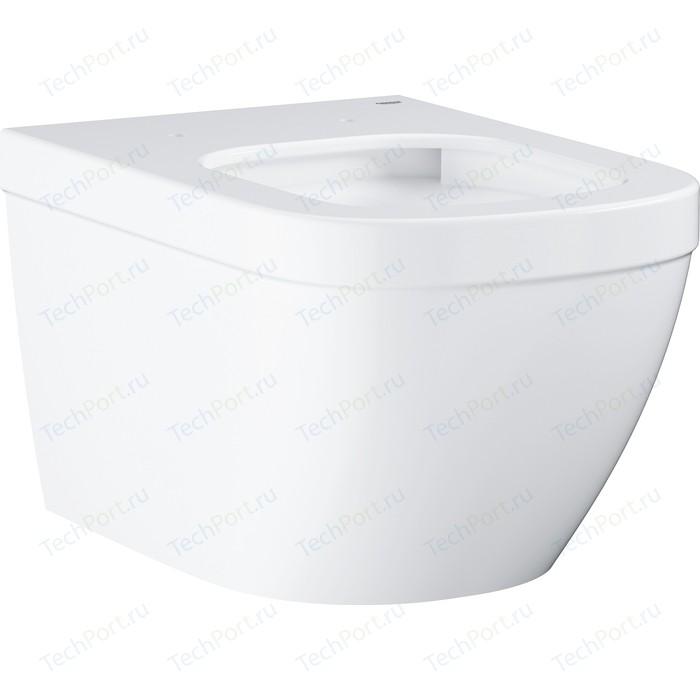 Унитаз подвесной Grohe Euro Ceramic с покрытием PureGuard (3932800H) унитаз подвесной grohe cube ceramic с покрытием pureguard 3924500h