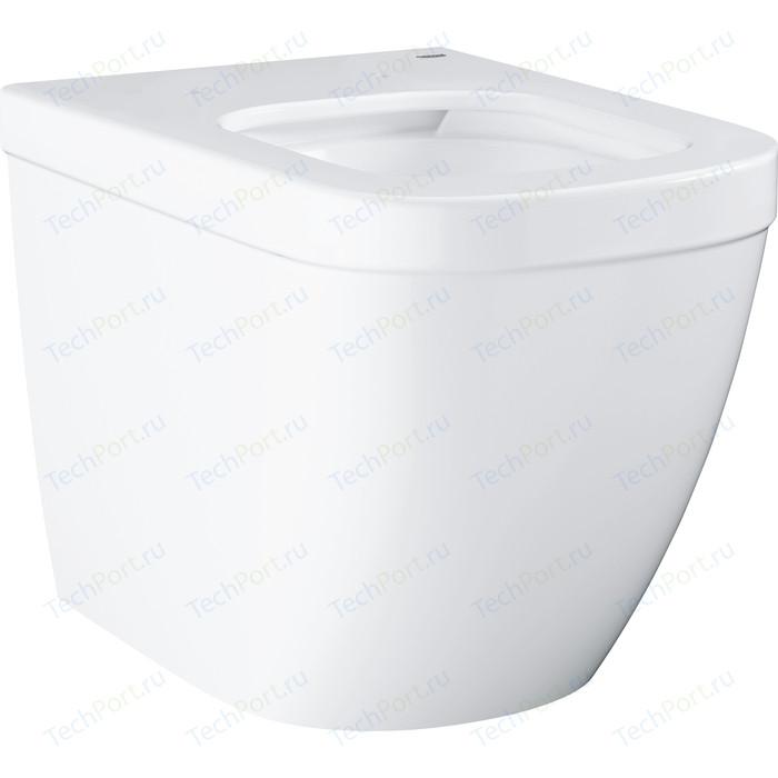Унитаз приставной Grohe Euro Ceramic с покрытием PureGuard (3933900H) унитаз подвесной grohe cube ceramic с покрытием pureguard 3924500h