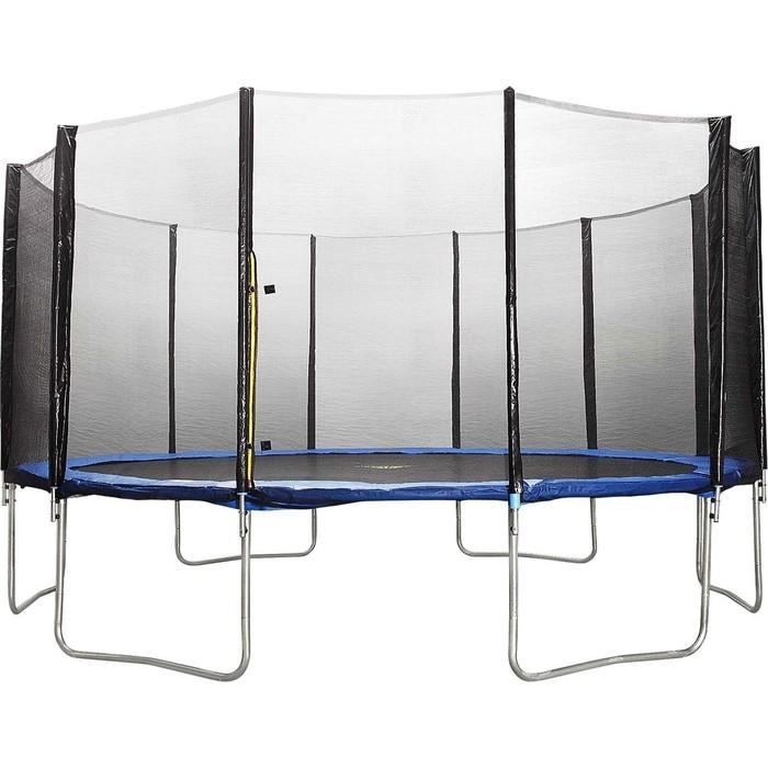Батут DFC Trampoline Fitness 20 FT с защитной сеткой (610 см)
