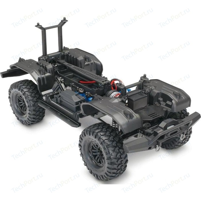 Фото - Радиоуправляемый монстр TRAXXAS TRX-4 Assembly Kit 4WD Chassis - TRA82016-4 new arduino 2wd 4wd rc car chassis motor