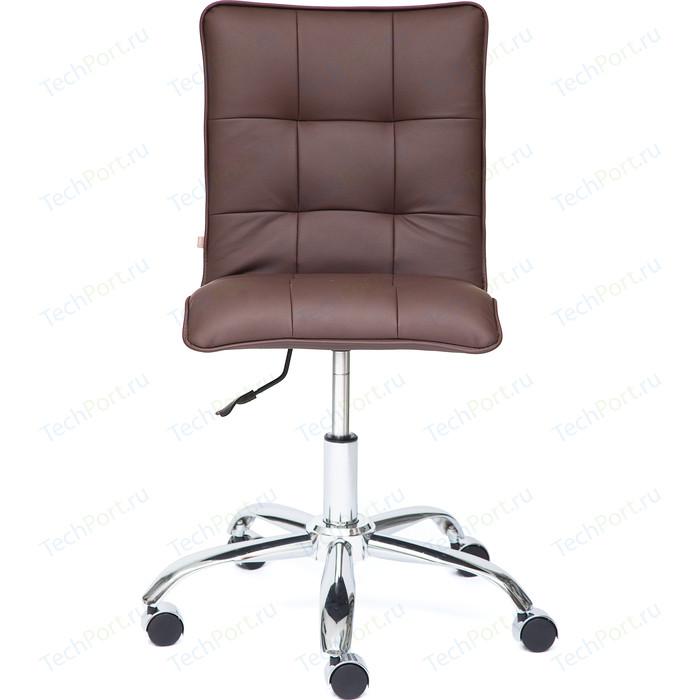 Кресло TetChair ZERO кож/зам коричневый 36-36