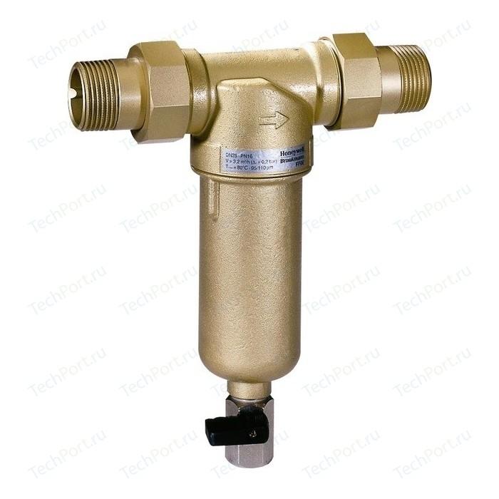 Фильтр механической очистки Honeywell FF06-1AAMRU без ключа для горячей воды фильтр honeywell ff06 1aam для горячей воды