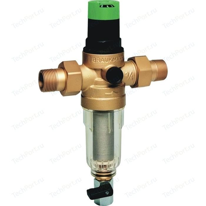 Фильтр механической очистки Honeywell с редуктором FK06- 1AA для холодной воды