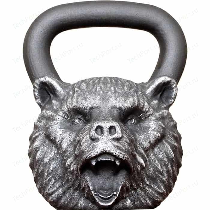 Дизайнерская гиря Iron Head Медведь 16,0 кг